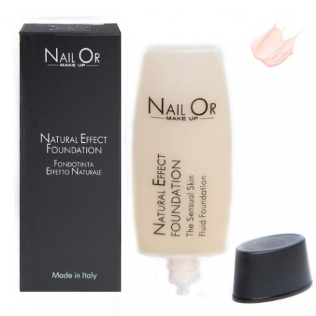 Nail Or Make Up Fondotinta liquido effetto naturale 001Rose 35ml