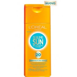 L'Oreal Paris Sublime Sun Abbronzatura Ideale ip 20 media 200ml