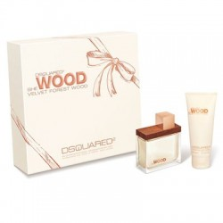 Dsquared She Wood Velvet Forest Wood edp 50ml + Shower Gel 100ml