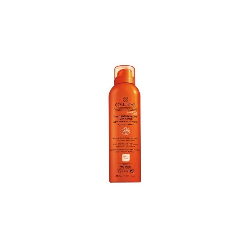 Collistar Speciale Abbronzatura Perfetta Spray Abbronzante Idratante applicazione ultra-rapida SPF 20 200ml