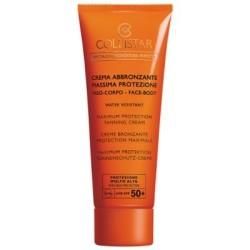 Collistar Speciale Abbronzatura Perfetta Crema Abbronzante Massima Protezione SPF 50+ 100ml