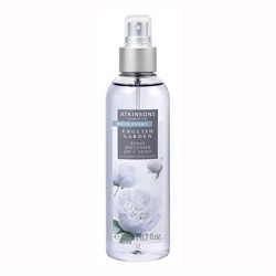 Atkinsons English Garden White Peony Acqua Profumata per il corpo 200ml tester[con tappo]