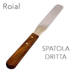 Roial Spatola per Ceretta in Acciao Inox