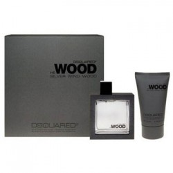 Dsquared Silver Wind Wood edt 50ml + Bagnoschiuma 100ml Cofanetto