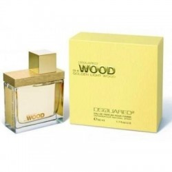 Dsquared She Wood Golden Light edp 50ml + Latte Corpo 100ml Cofanetto