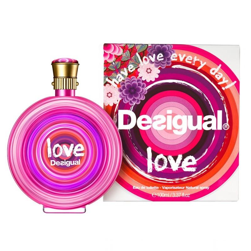 Desigual Love Woman edt 100ml