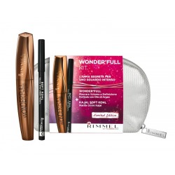 Rimmel Pochette Wonder'full Kit Mascara Nero + Matita Nera