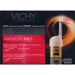 Vichy Dercos Aminexil Pro Uomo Trattamento Anti Caduta 5 Fiale tester[senza applicatore]
