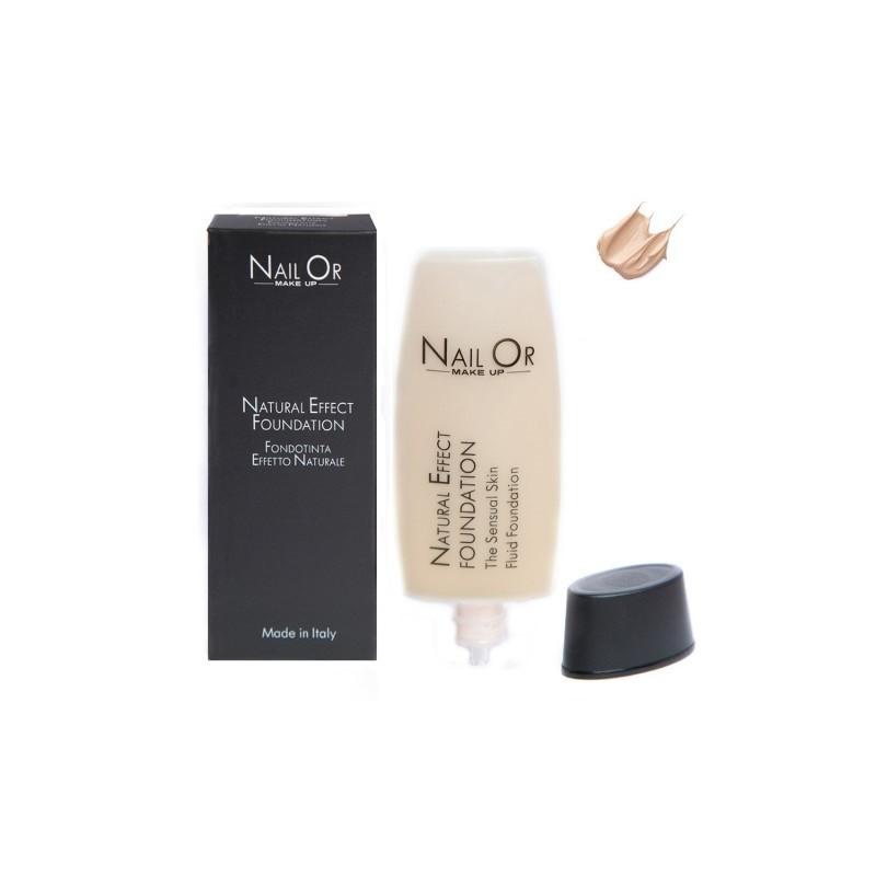 Nail Or Make Up Fondotinta liquido effetto naturale 001Rose 35ml