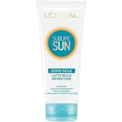 L'oréal Sublime Sun Latte Ricco Riparatore Dopo-sole 200ml