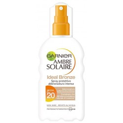 GARNIER AMBRE SOLAIRE IDEAL BRONZE Spray Protettivo SPF20 200ML