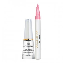 Collistar Unghie Top Coat Effetto Gel & Volume + Art Pen Rosa
