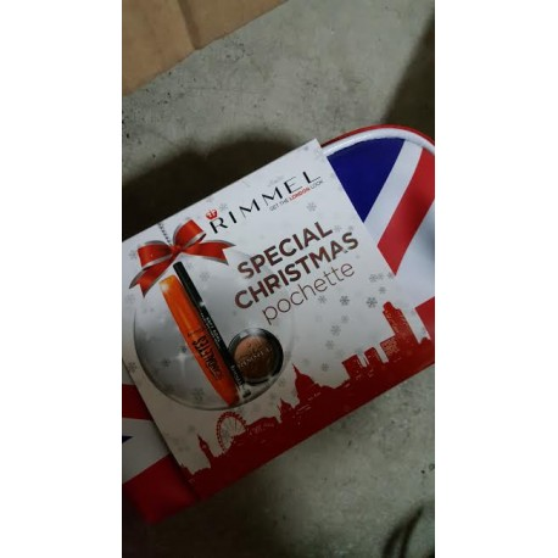 rimmel special christmas pochette mascara + matita + ombretto