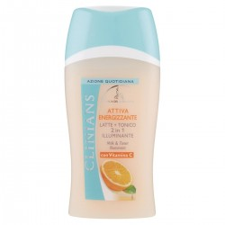 clinians Attiva Energizzante Latte + Tonico 2in1 illuminante 200 ml