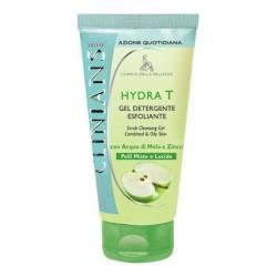 clinians Gel detergente esfoliante Hydra T pelli lucide 150ml