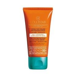 Collistar Speciale Abbronzatura Perfetta Crema Viso Solare Protezione Attiva Pelli Ipersensibili SPF 50+ 50ml