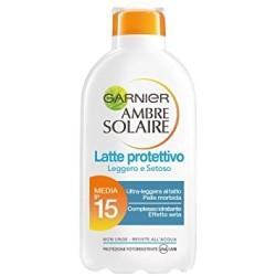 Garnier Ambre Solaire ip 15 media Latte Protettivo 200ml