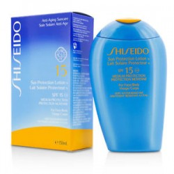 Shiseido Sun Protection tanning Emulsion Spf 10 For Face & Body 150ml