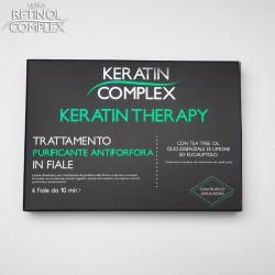Keratin Complex TRATTAMENTO PURIFICANTE ANTIFORFORA IN FIALE 6 fiale da 10 ml