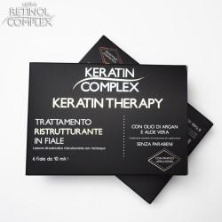 Keratin Complex TRATTAMENTO RISTRUTTURANTE IN FIALE 6 fiale da 10 ml