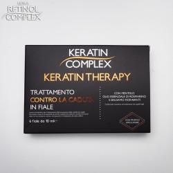 Keratin Complex TRATTAMENTO CONTRO LA CADUTA IN FIALE 6 fiale da 10 ml