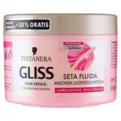 TESTANERA Gliss Seta Fluida Gloss Maschera Capelli Ml 300