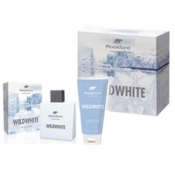 Rockford cofanetto uomo rockford wildwhite - eau de toilette 100 ml + shampoo doccia gel 100 ml