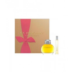 BURBERRY FOR WOMAN SET - EAU DE PARFUM 50 ML + MINIATURA 7,5 ML