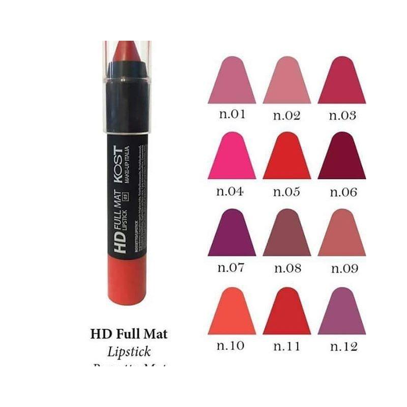 kost HD FULL MAT LIPSTICK n1