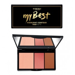 DEBORAH MY BEST HIGHLIGHT & CONTOUR FACE PALETTE n1