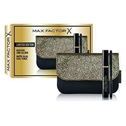 Max Factor - Confezione Regalo - Pochette con Mascara Volumizzante 2000 Calorie e Matita Occhi Nera