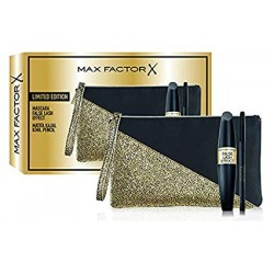 Max Factor - Confezione Regalo - Pochette con Mascara False Lash Effect e Matita Occhi Nera