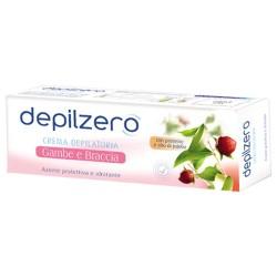 Depilzero Crema Depilatoria Gambe E Braccia Idratante E Protettiva Con Olio Di Jojoba 150 Ml