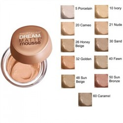 maybelline dream matte mousse 20 cameo
