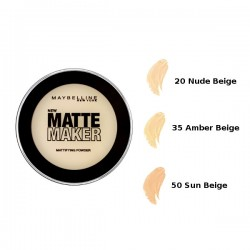 maybelline matte maker mattifying powder 50