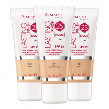 Rimmel Lasting Finish 25H Breathable 100 ivory