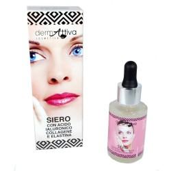 Dermattiva Siero con Acido Ialuronico Collagene e Elastina 30 ml