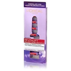 L'Oréal Paris Ampolle Antirughe Rimpolpanti Revitalift Filler, con Acido Ialuronico Puro 100% Concentrato e Vitamina B5