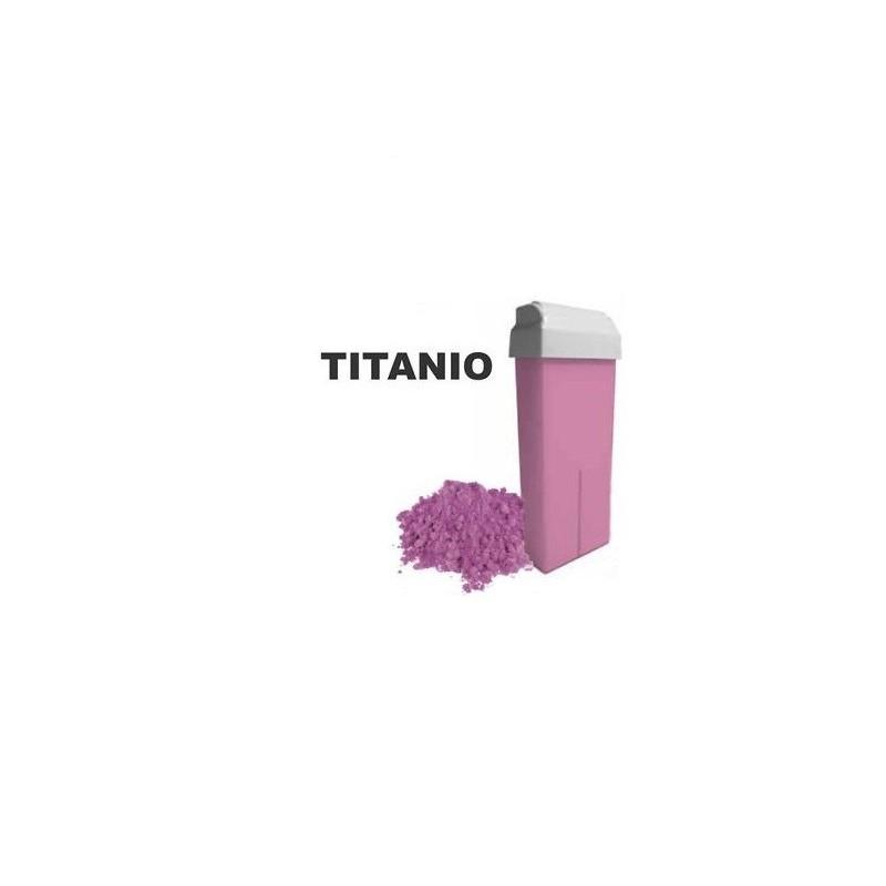 Cera Rullo Titanio Rosa
