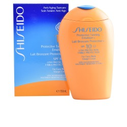 Shiseido Sun Protection tanning Emulsion Spf 6 For Face & Body 150ml