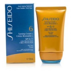 Shiseido Tanning Cream 50ml SPF6