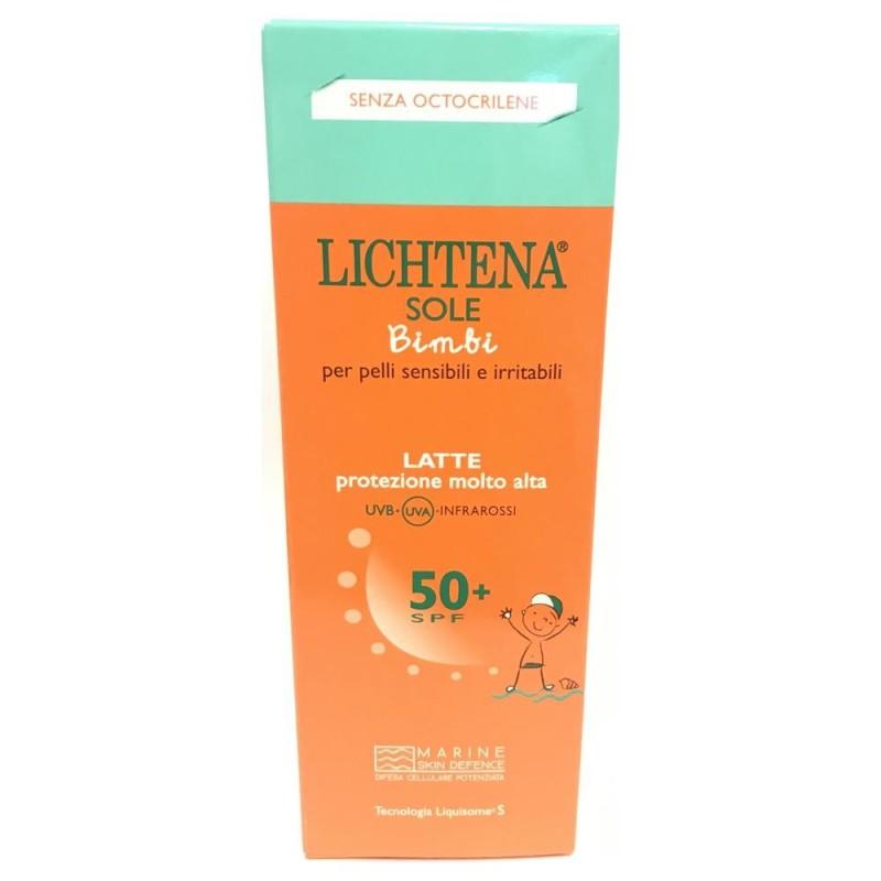 LICHTENA SOLE BAMBINI LATTE SPF50+ 100 ML