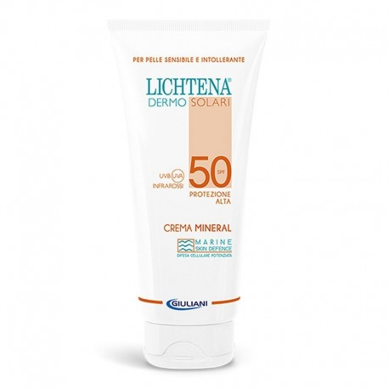 Lichtena Dermosolari Crema Mineral SPF 50 100 ml