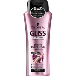 Testanera Shampoo Gliss Serum Repair formato speciale 750ml