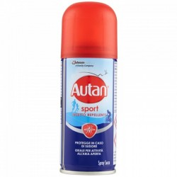 Autan sport Insetto Repellente Spray Secco 100 ml