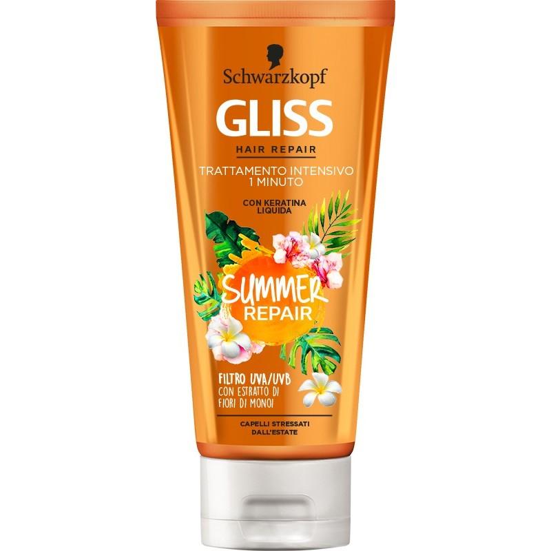 gliss summer repair trattamento intensivo 1 minuto 200ml