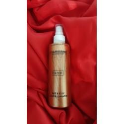 Italpharma Olio secco illuminante ed idratante naturale con particelle scintillanti bronzo 200ml