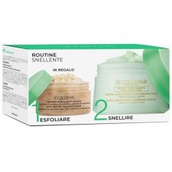 collistar kit crema snellente alta definizione 400 ml + talasso scrub 150 g