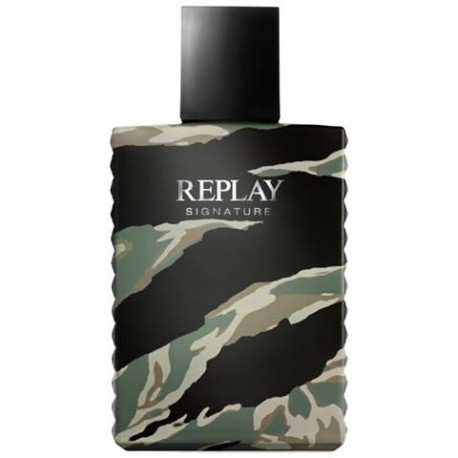 REPLAY Signature For Him Edt 100ml tester