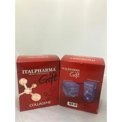 italpharma cofanetto CREMA VISO collagene 50ml + contorno occhi 15ml